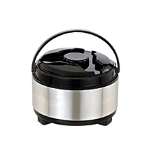 Weegas Stainless Steel Hot Pot- 5 Litres - Silver