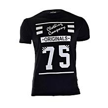 Black Short Sleeved T-shirt Limited Edition