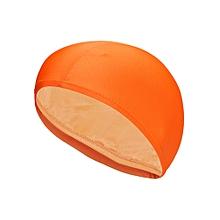 Cozy Waterproof Soft Printed Stretchy Milk Lycra Swimming Cap