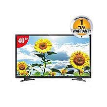 "WGFNTLA40H - 40"" FULL HD Digital LED TV -  Black."