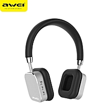 Awei A900BL Bluetooth Headset Wireless Headset Headset With Sports Microphone (Silver)