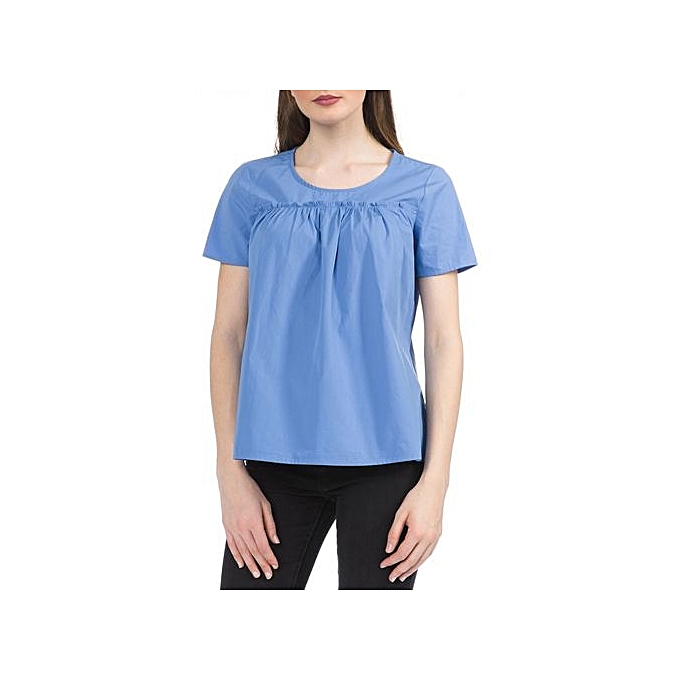 8641def3 VERO MODA Mimi T-shirt Blue Women @ Best Price Online | Jumia Kenya