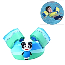 Panda Pattern Children Swimming Lifesaving Equipment Buoyancy Swimsuit Vest Sleeves Back Floating Arm Swim Rings Snorkeling Suit, Size: 86cm, Suitable For 2-7 Years Of Age, Buoyancy Within 10-30kg Baby Use