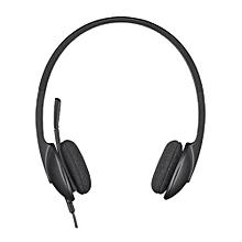H340 - USB Headset - Black