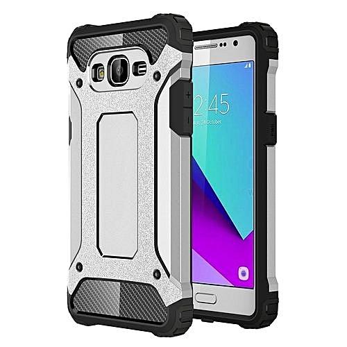 For Samsung Galaxy J2 Prime / G532 Tough Armor TPU + PC Combination Case ( Silver