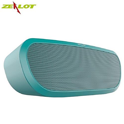 S9 Wireless bluetooth shower speaker support TF card compurer outdoor mini  speaker portable subwoofer Box earpiece bass(Green) WOW