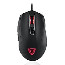 Motospeed V60 5000DPI Gaming Gamer Mouse USB Wired Optical RGB Backlit Mouse black