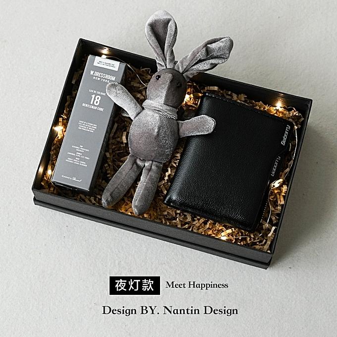 Perfume Wallet Rabbit Night LightVibrating Qixi Popular Hot Boyfriend Birthday Gift Boys Special
