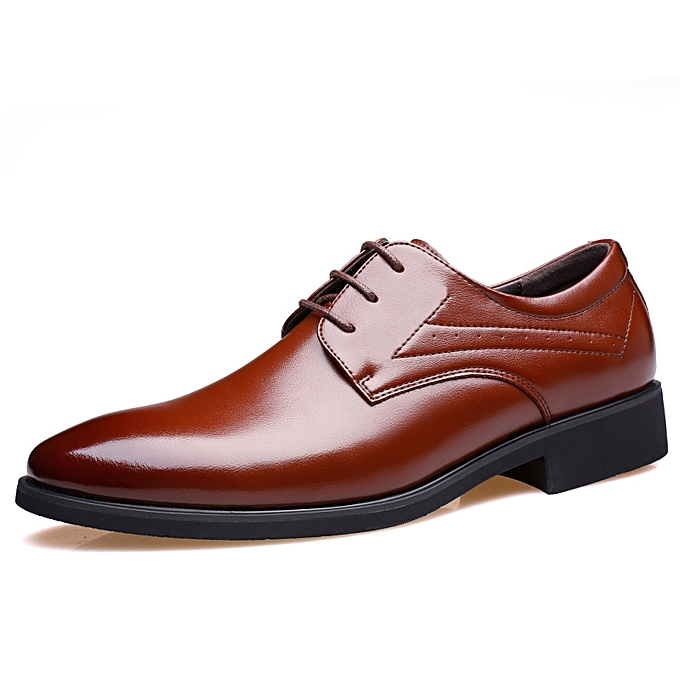 Tauntte Men Office Dress Shoes Business Casual Shoes Brown Best