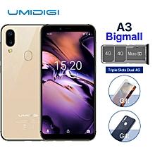 "UMIDIGI A3 5.5"" 2GB RAM + 16GB ROM Android 8.1 - Gold"