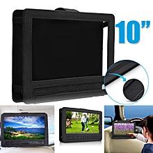 "10"" Portable DVD Player Headrest Car Case Holder Black Carrying Travel"