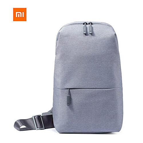 fb9bd638e9aa Xiaomi Mi Sling Bag Leisure Chest Pack Small Size Wear-resistant Shoulder  Type Backpack Crossbody Bag 4L Polyester Waterproof Urban Sports Chest Bags  Unisex ...