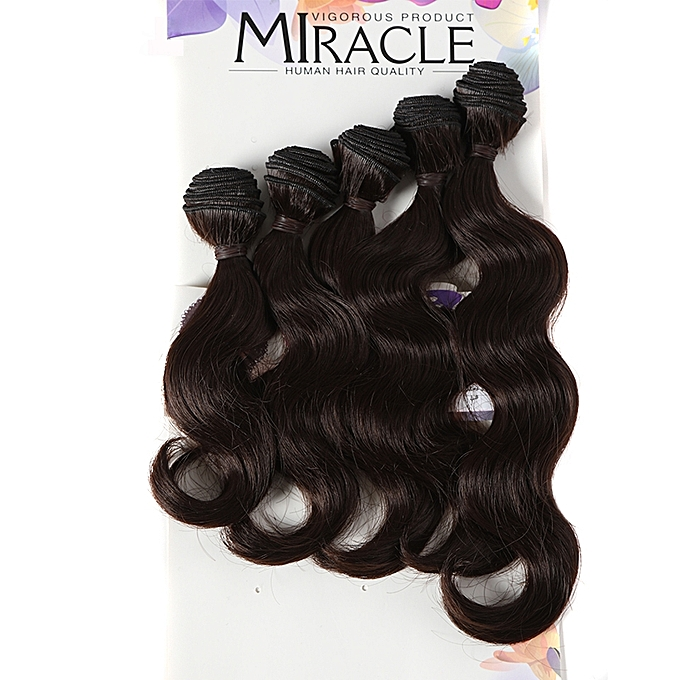 Buy Generic Miracle Style New Fiber Synthetic Hair Weaving Body Wave