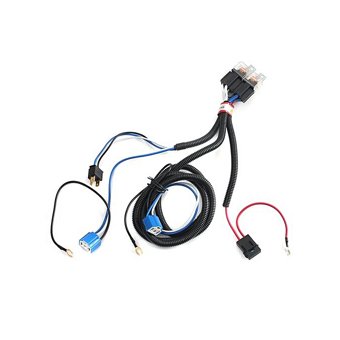 Generic Universal H4 Headlight Booster Wire Hid Xenon Halogen
