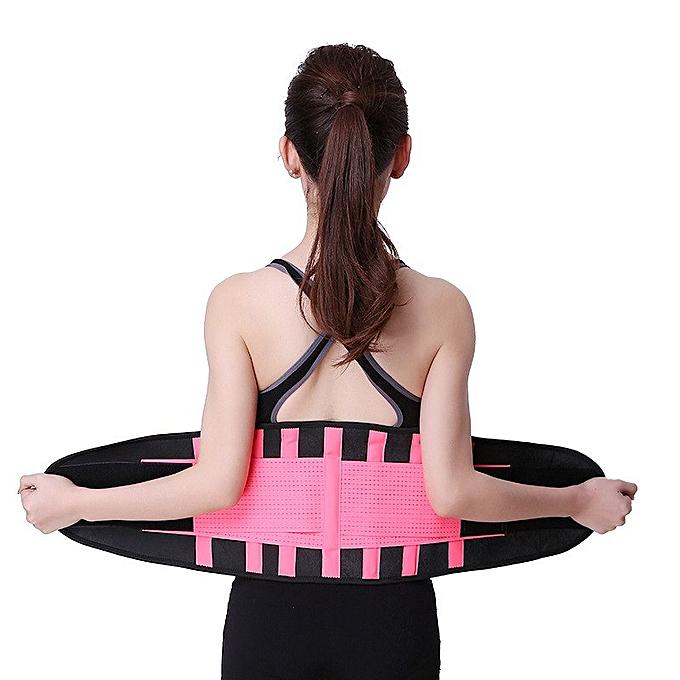 2018 Corset Fitness Belt Waist Support Waist Training Corset Slimming Women  Waist Support Faja Lumbar Sport Sweat Slim BeltS-2XL