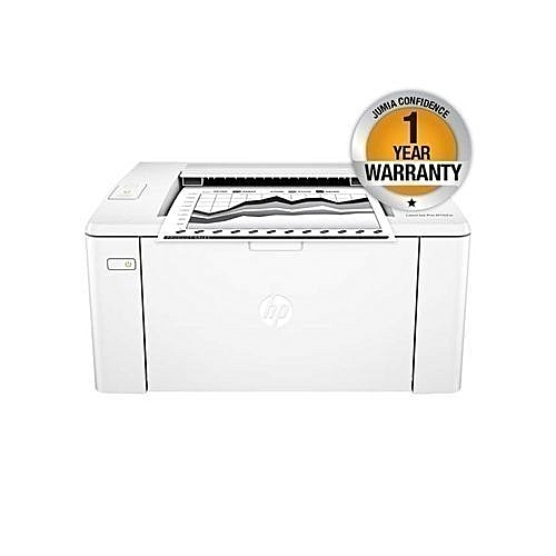 LaserJet Pro M102w Printer - White