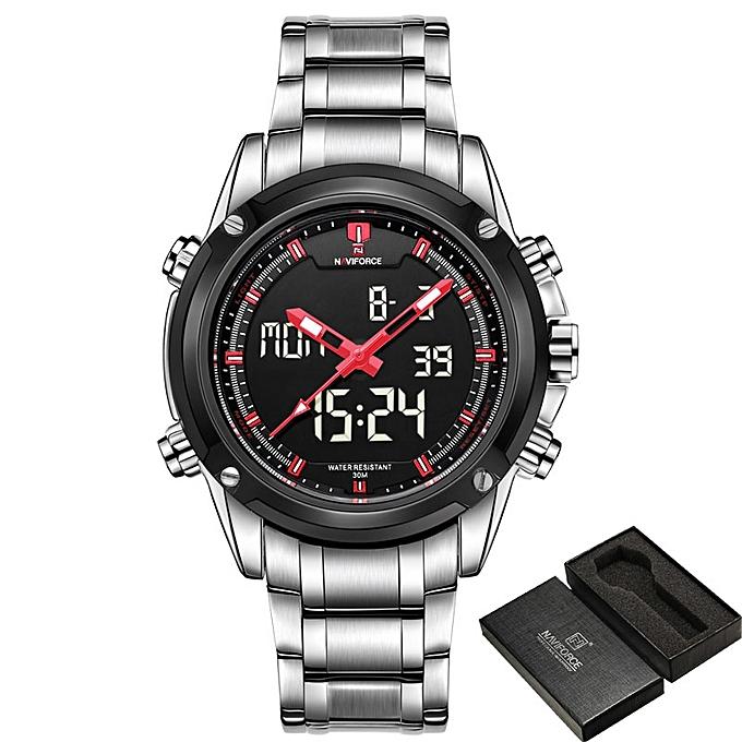 94b309c4e Top Men Watches Luxury Brand Men's Quartz Hour Analog LED Sports Watch Men  Army Military Wrist