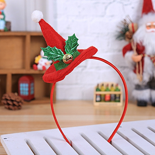 Christmas Headband Craft.Hot Christmas Headband Santa Xmas Party Decor Double Hair Band Clasp Head Hoop