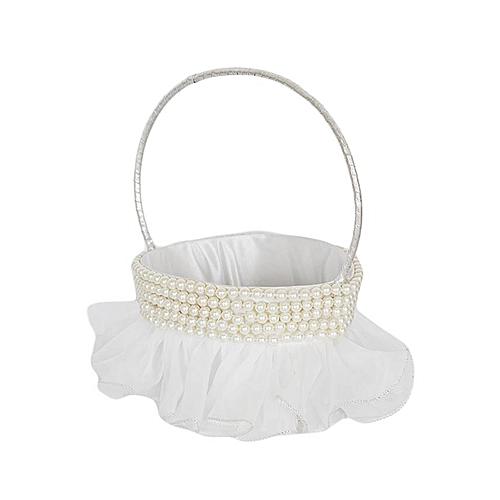 Generic White With Pearls Flower Girl Basket Best Price Jumia Kenya
