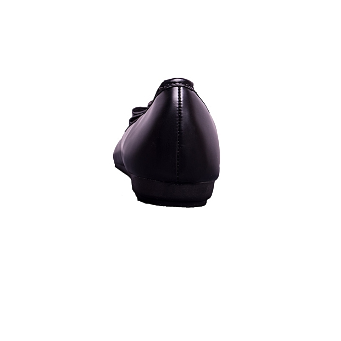 cf4bbd63a9151 Impala Ladies black flat shoe   Best Price