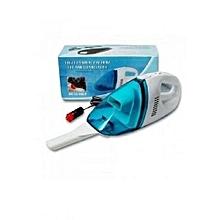 Car Vacuum Cleaner- White/Blue