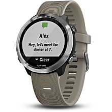 Forerunner 645 GPS Wrist-based Heart Rate Sport Watch - Sandstone (010-01863-A1) (Support EU Languages)