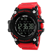 SKMEI 1227 Waterproof Bluetooth Sports Smart Watch Pedometer For IOS/Android Red