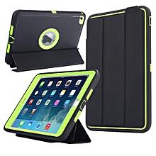 Ipad Mini Protective [3 In1] PC + TPU + Leather Hybrid [Stand] Shockproof Cover for Apple Ipad Mini 4(Green) Ipad Mini 4 Case CHD-Z