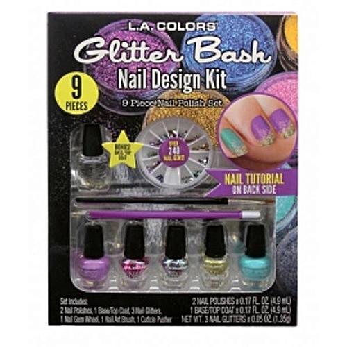 L.A. Colors Glitter Bash Nail Design Kit @ Best Price | Jumia Kenya