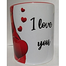 Valentines day coffee mug
