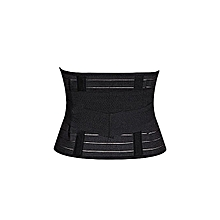 Postpartum belt / waist trainer / Slimming Tummy Control Belt Corset / Postpartum Girdle - Black