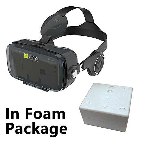 ea45065a6897 Generic Virtual Reality Google Cardboard VR BOX vr Z4  Z4 Mini 3D glasses+Bluetooth  Controller for 4-6  Smart Mobile Phone QDJRO