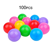 HP 100pcs Multicolor Toy Ball Swimming Pool Ball Non-toxic For Children Play Random