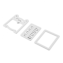 bed Mold Tool Plastic Fondant Cutter Cake Mould
