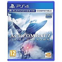 PS4 Game VR Ace Combat 7 Skies Unknown