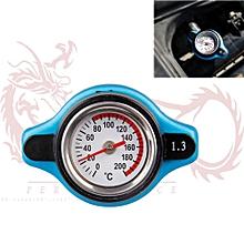 222011726939 THERMOSTATIC GAUGE RADIATOR CAP 1.3 BAR BIG HEAD UPRATED BLUE
