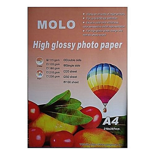 A4 High Glossy Photo Papers