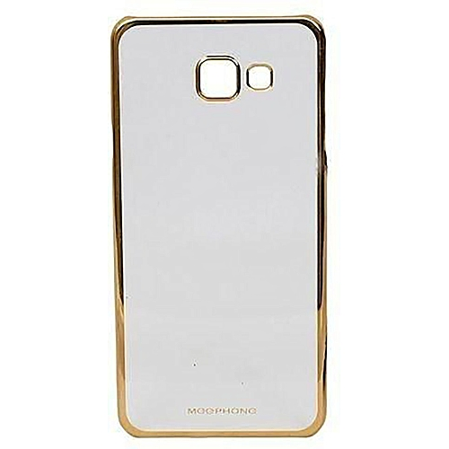Luxury Clear Crystal Soft Case For Samsung J5 Prime - Clear&Gold