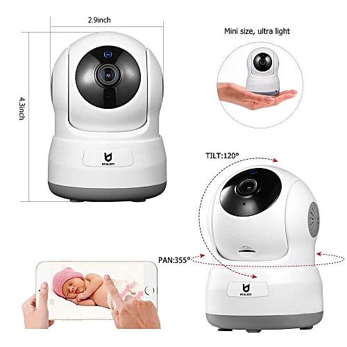 Wireless Security Camera, Utalent 720P HD Indoor WiFi Home Surveillance IP  Camera