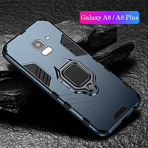 brand new 2c55e ef105 Shockproof Armor Stand Case For Galaxy A8 2018 A8 Plus 2018 With Holder  Ring Cover Cases For Samsung Galaxy A8 / A8 Plus 2018 Car Magnet Phone  Casing ...