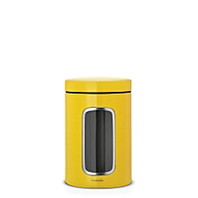 484043 - Window Canister - Daisy Yellow