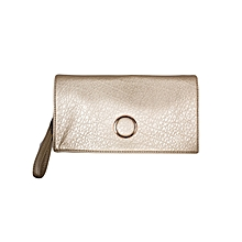Champagne Gold Shoulder Bag/ Baguette