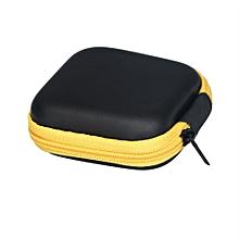 Hiamok_Zipper Storage Bag Carrying Case for Hard Keep Earphones SD Card Area YE