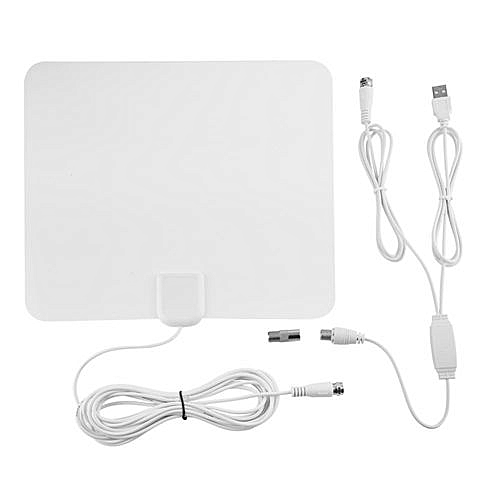generic clearance sale 50 miles 25db ultra-thin hdtv mobile indoor  amplified tv antenna digital signal amplifier