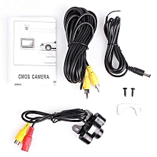 OR Waterproof Car Parking Assistance IR Camera Night Vision Rear View Black