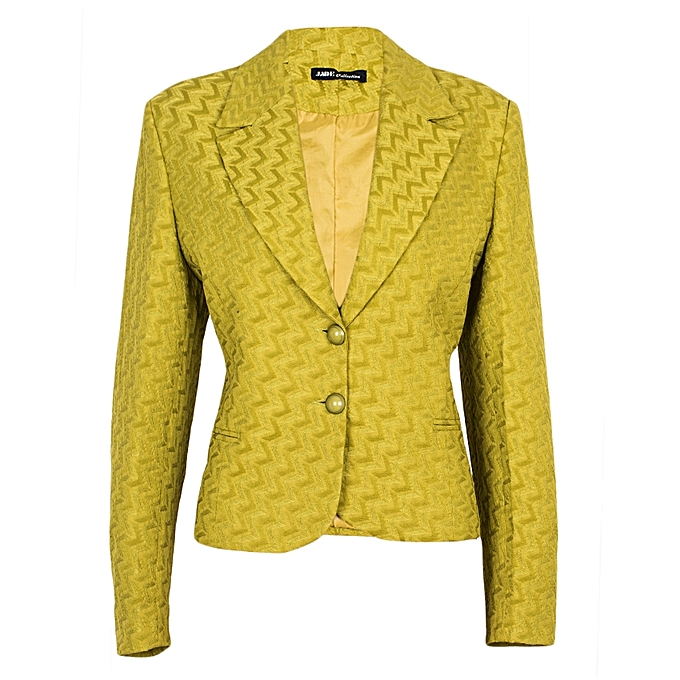 Blazers Jumia: Buy JADE Collection Lime Green Women's Official Blazer