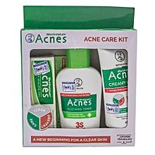 Treatment With Mentholatum Acnes Set