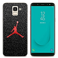 Samsung Galaxy J6(2018)(3PCS X Phone Case) Silicone Case, TPU Anti-knock Phone Back Cover For Samsung Galaxy J6(2018) - Multi-color(Dunk+Captain America+Phoenix Feather).