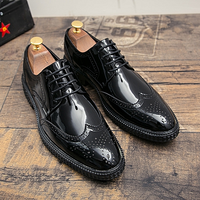 3f9f2a83aa8 Men Dress Shoes Men Formal Shoes Luxury Fashion Wedding Leather Shoes