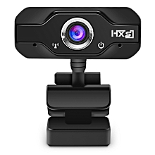Computer Camera 720P with Microphone 1 Million Pixels - Black